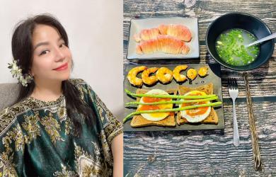 Ca sĩ Minh Chuyên hé lộ thực đơn giúp bản thân giảm 4 kg sau 15 ngày